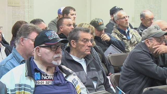 The Central State Pension holders held a meeting to talk about an ongoing fight to protect a large number of their pensions from being lost.