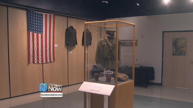 The museum felt it was fitting to end the run of the exhibit on the 100th anniversary of the end of the war.