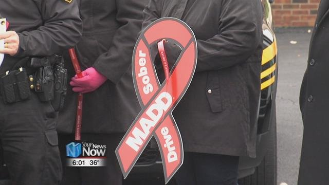 MADD continues to encourage people, this upcoming holiday season, to stay sober while driving, wear a seatbelt, and be a responsible party host including only serving those 21 years and older.