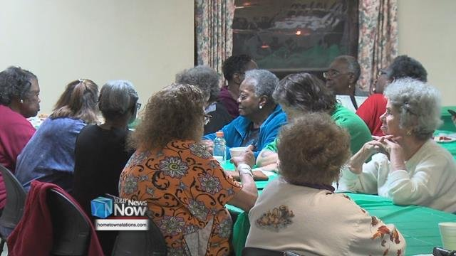 This is the 15th year that Councilman Derry Glenn has held a Thanksgiving dinner for the residents in his ward.