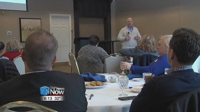 """The """"Connections"""" program brings those in management positions to learn new topics, this session being about human resources."""