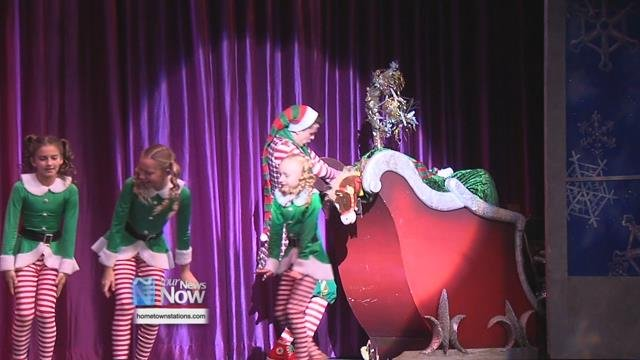 Around 100 ONU students and children had less than a month to get this high energy show ready to go for another year.