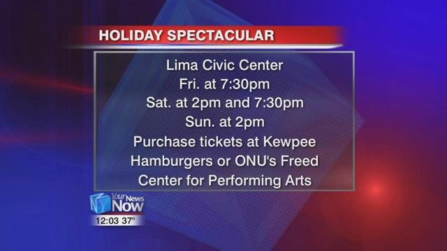 You purchasetickets at any Kewpee Hamburger locations or at ONU's Freed Center for the Performing Arts for $5.00.
