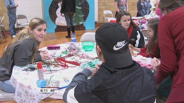 The event, full of games and fun, was a way for the community to kick off the holiday season.