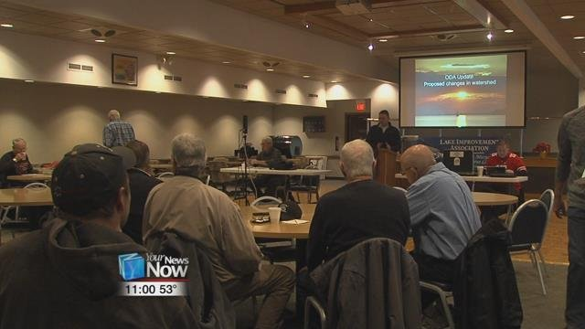 The LIA traveled to Columbus on November 20, 2018, to speak out against a proposed rule that would lift the winter manure spreading ban.