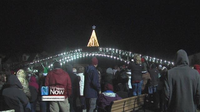 The organization hosted their annual Indian Lake Christmas Tree Lighting at the Sandy Beach Bridge in Russells Point, shining a beacon of holiday cheer for the community.