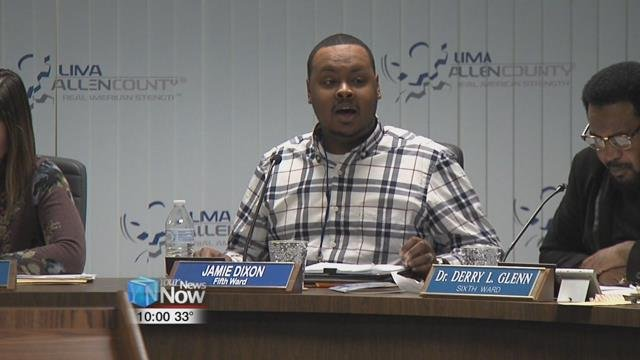 Former Councilman and downtown business owner Ray Magnus called forCouncilman Jamie Dixon resign in Lima City Council's Monday night meeting.