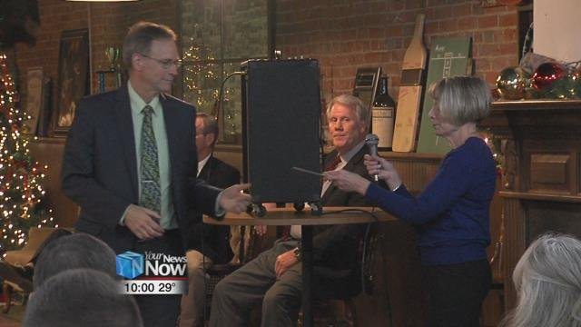 The Delphos Club held its annual eventto honor the Arnold C. Dienstberger Foundation.
