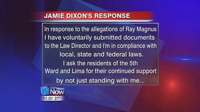 On Wednesday night, Jamie Dixon sent Your News Now his response: