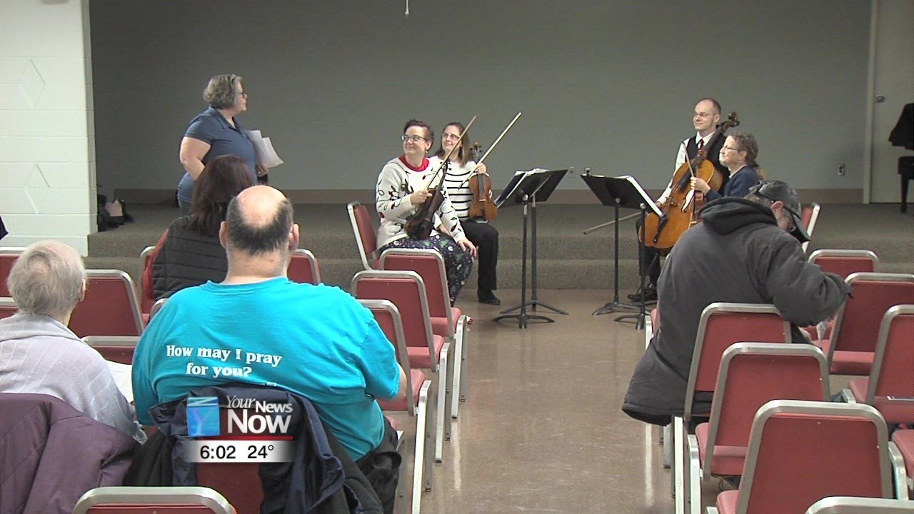 """The Lima Symphony Orchestra and SAFY Lima Behavioral Health teamed up to put on a """"Healing Through Music"""" program."""